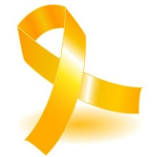 bone cancer ribbon
